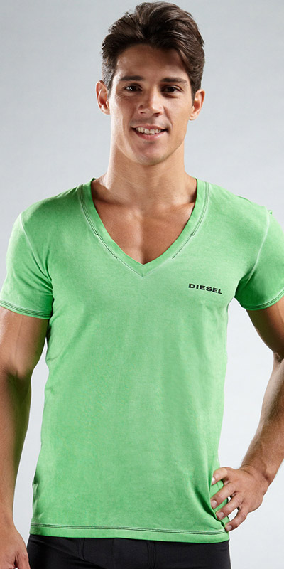 Diesel Jesse Deep V-Neck Shirt
