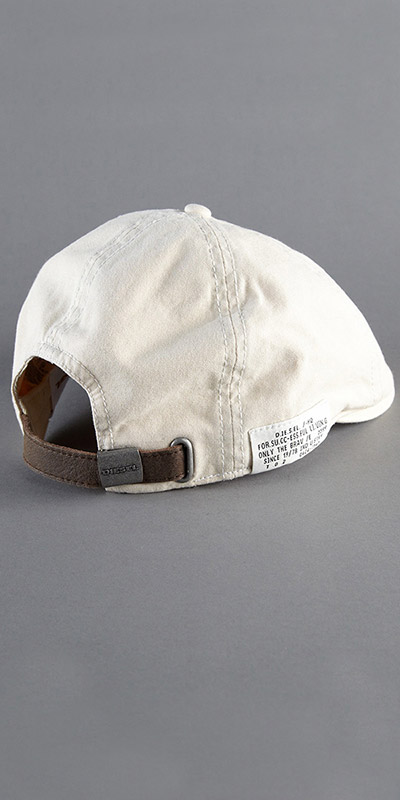 Diesel Carbonel Flat Cap