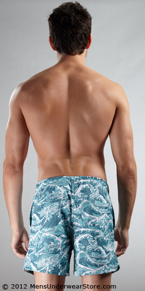 Frank Dandy Ocean Mid Cut Swim Shorts