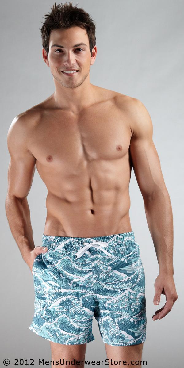 Frank Dandy Ocean Mid Cut Swim Shorts