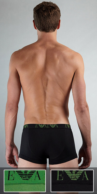 Emporio Armani Cotton Stretch 2-Pack Trunk