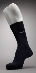 Emporio Armani Basic Eagle Cotton Sock