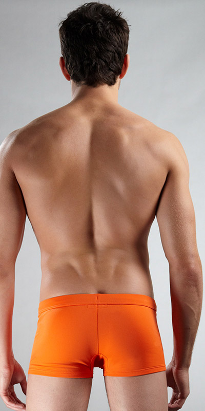 Emporio Armani Swim Trunk With Logo
