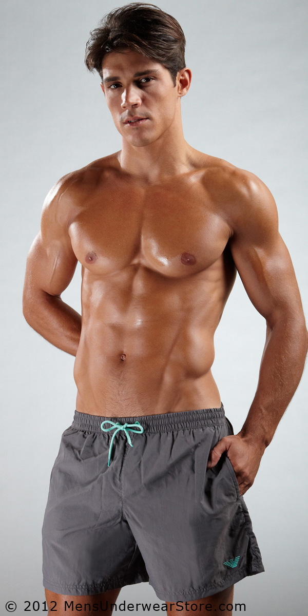 Emporio Armani Loose Swim Trunk