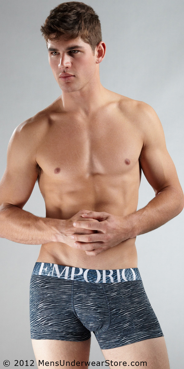 Emporio Armani Dunes Stretch Cotton Trunk
