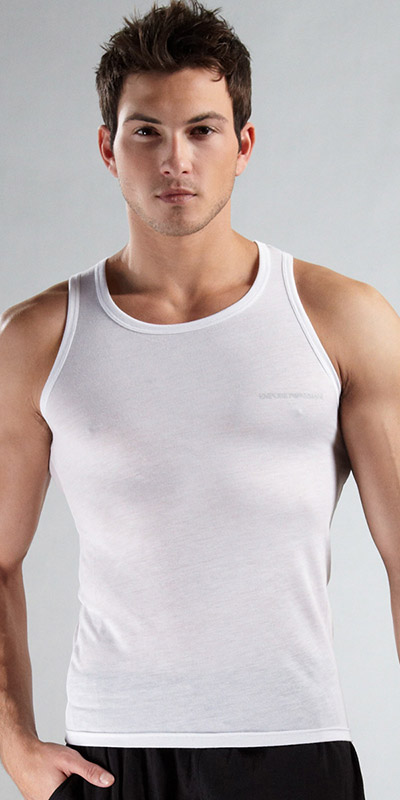 Emporio Armani Soft Lounge Tank Top