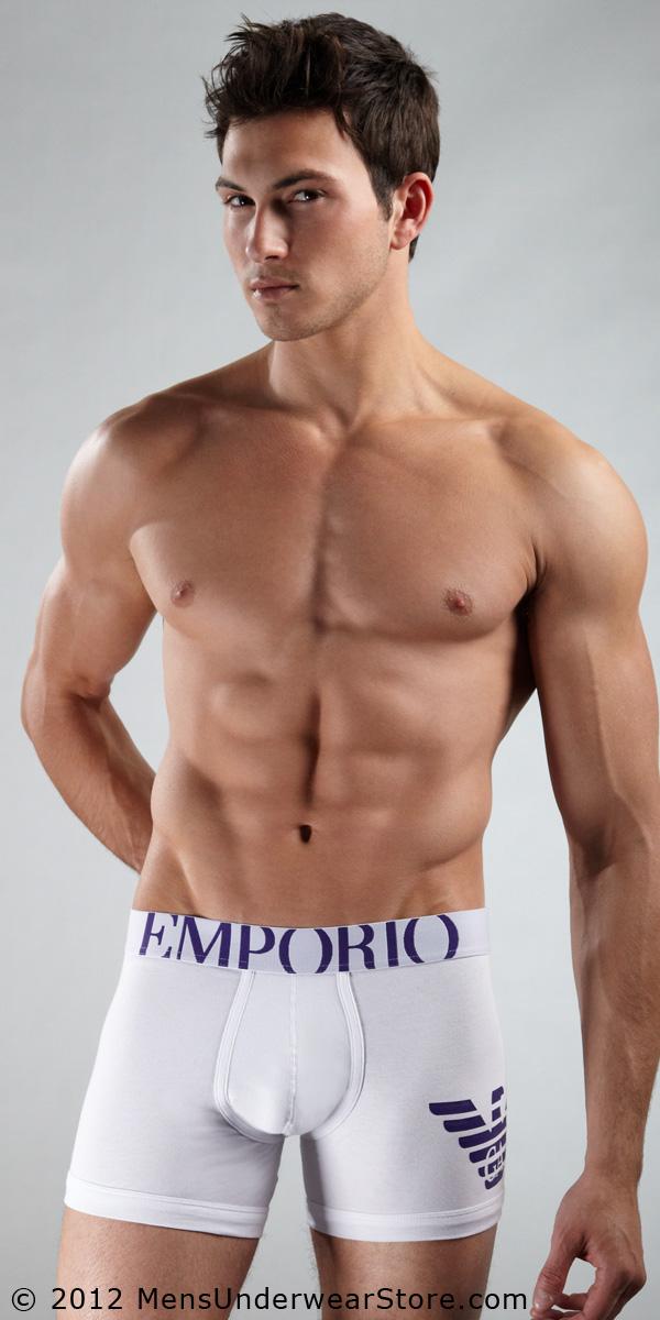 Emporio Armani Eagle Stretch Cotton Boxer Brief