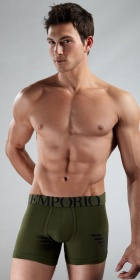 Emporio Armani Eagle Stretch Cotton Boxer Brief