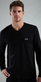 HUGO BOSS Long Sleeve V-Neck Shirt