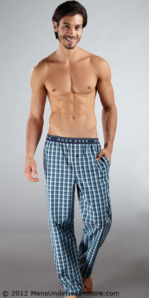 HUGO BOSS Plaid Pajama Pants