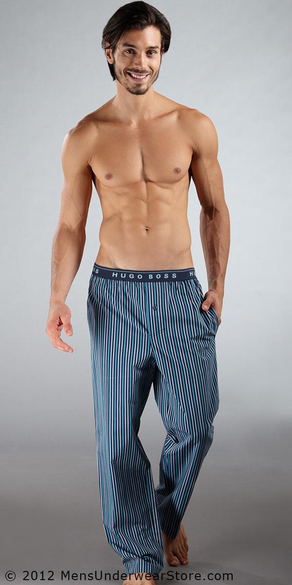 HUGO BOSS Plaid Pajama Pants