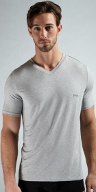 HUGO BOSS Micro Modal Short Sleeve V-Neck