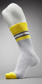 HUGO BOSS Ribbed Crew Sock