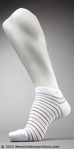 HUGO BOSS Narrow Striped Ankle Sock
