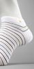 HUGO BOSS Narrow Striped Ankle Sock