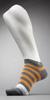 HUGO BOSS Wide Striped Ankle Sock