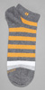 HUGO BOSS Wide Striped Ankle Sock