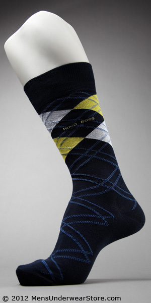HUGO BOSS Argyle Dress Sock