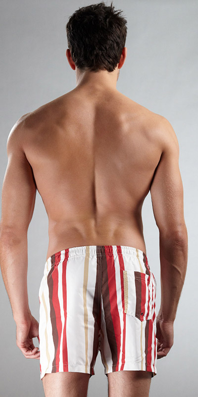 Grigio Perla Yachting Madagascar Swim Shorts