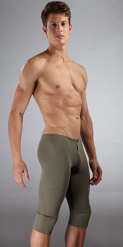 N2N Bodywear Campfire Cropped Long Johns