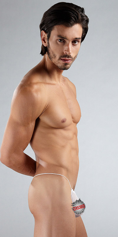 N2N Bodywear Net String Thong
