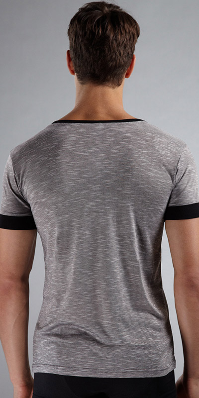 N2N Bodywear Melrose V-Neck Shirt