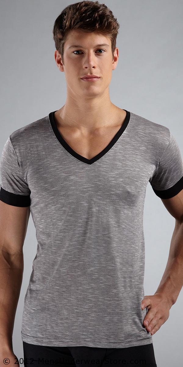 N2N Bodywear Melrose V-Neck Shirt