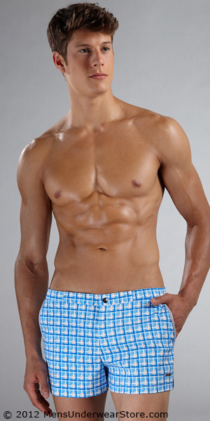 Parke &amp; Ronen Printed Angeleno 2&quot; Swim Short