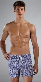 Parke &amp; Ronen Classic Print 4&quot; Swim Short
