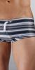 Parke & Ronen Corcovado Print Square-Cut Swimsuit