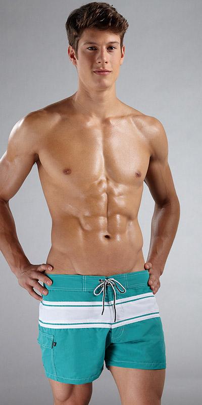 Tulio Square Cut Loose Trunk Swimsuit