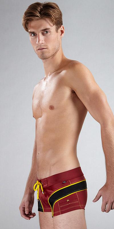 Tulio Arc Square-Cut Swimsuit