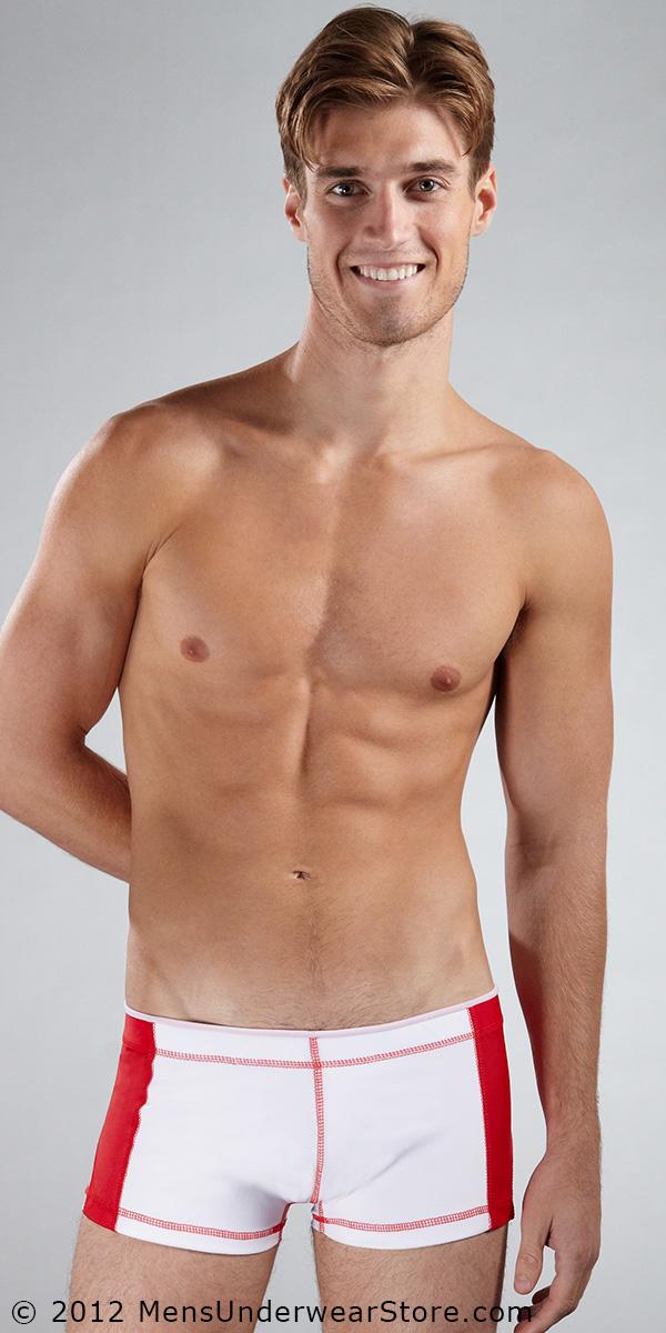 Tulio Side Panel Square-Cut Swimsuit