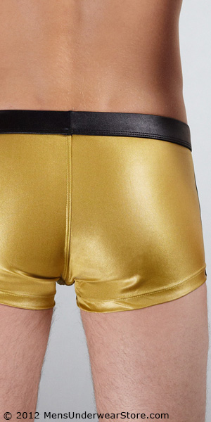 Tulio Metallic Square-Cut Swimsuit