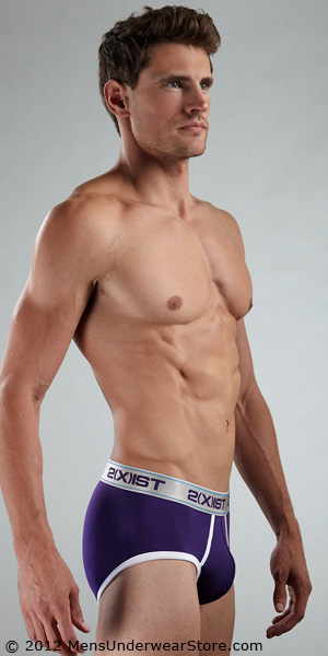 2XIST Colour Contour Pouch Brief