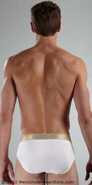 2XIST Gold Contour Pouch Brief