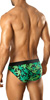 Vuthy Leaf Print Swim Bikini-Brief