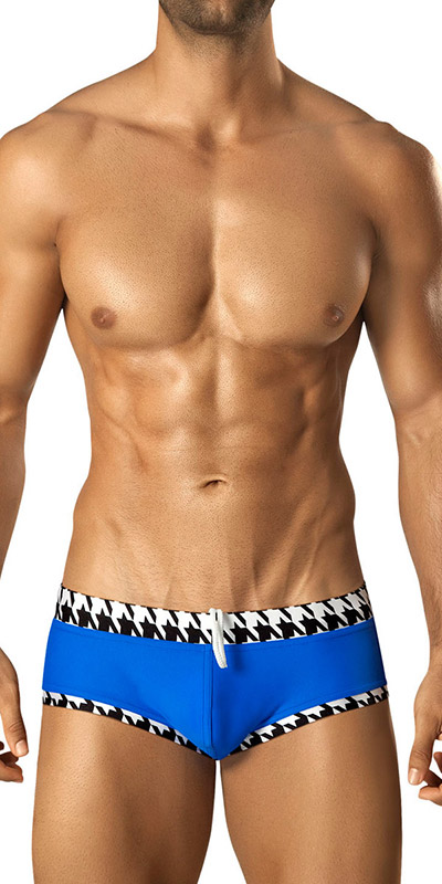 Vuthy Houndstooth Swim Brief