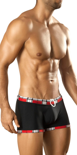 Vuthy Plaid Swim Trunk