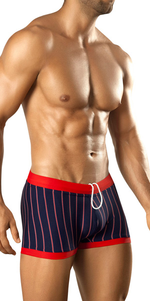Vuthy Stripes Swim Trunk
