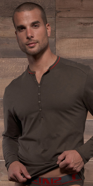 C-IN2 Pop Long Sleeve Henley