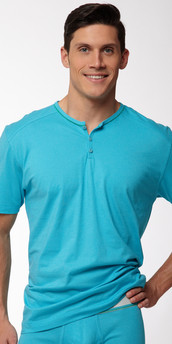 C-IN2 Pop Short Sleeve Henley