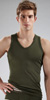 C-IN2 Zen Strong Arm V Neck Tank Top