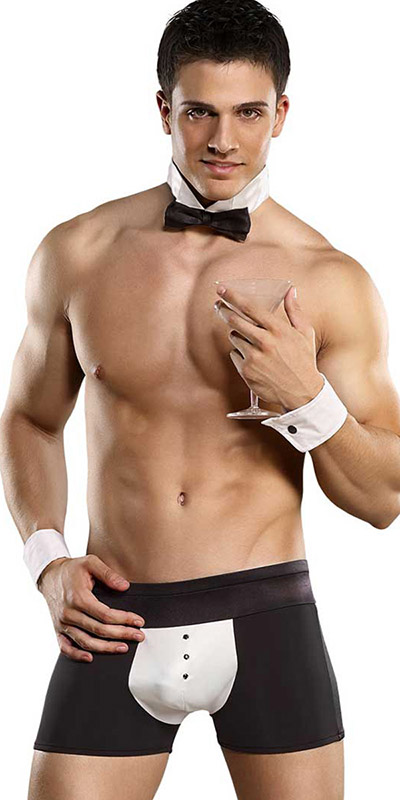 Male Power Butler Costume