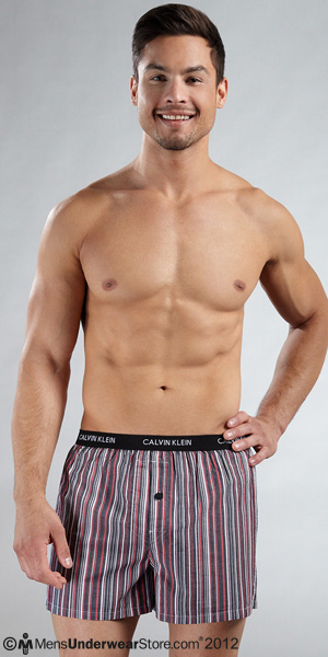 Calvin Klein Slim Fit Woven Boxer