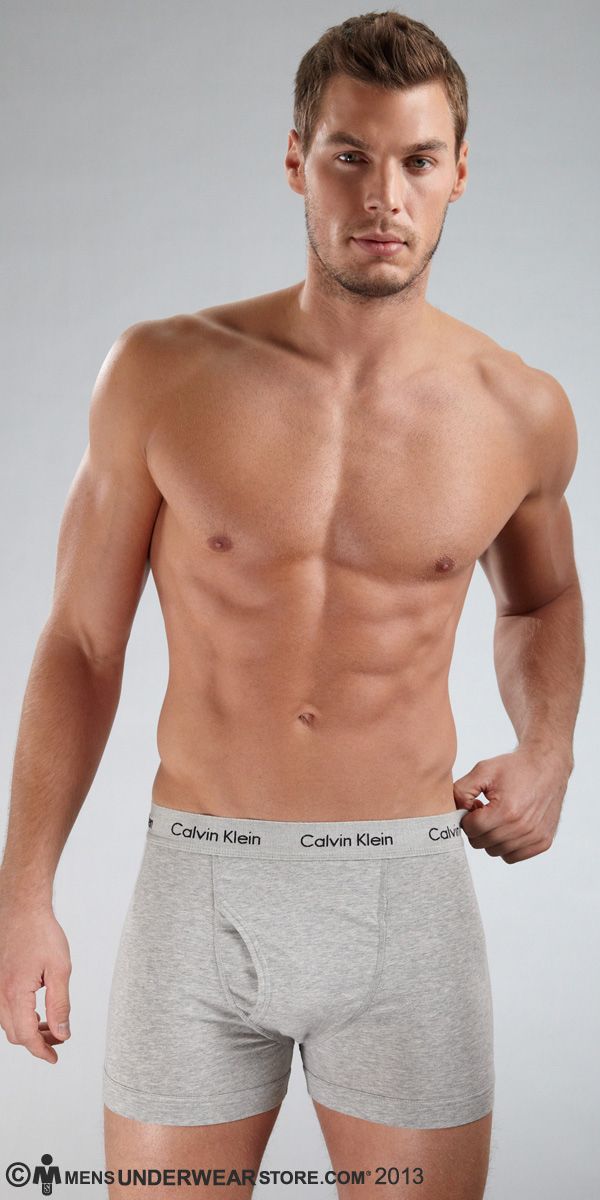 Calvin Klein Cotton Stretch 2-Pack Trunk
