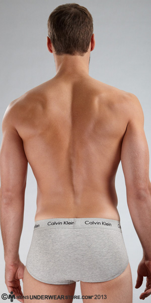 Calvin Klein Cotton Stretch 2-Pack Hip Brief