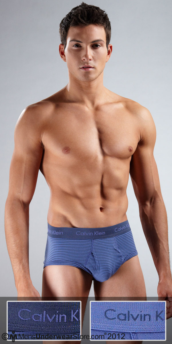 Calvin Klein Cotton Stretch Fly Brief 2-Pack