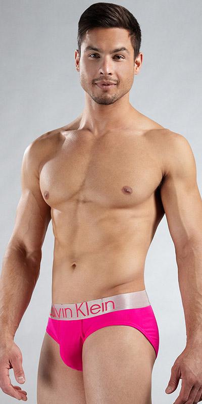 Calvin Klein Steel Microfiber Hip Briefs