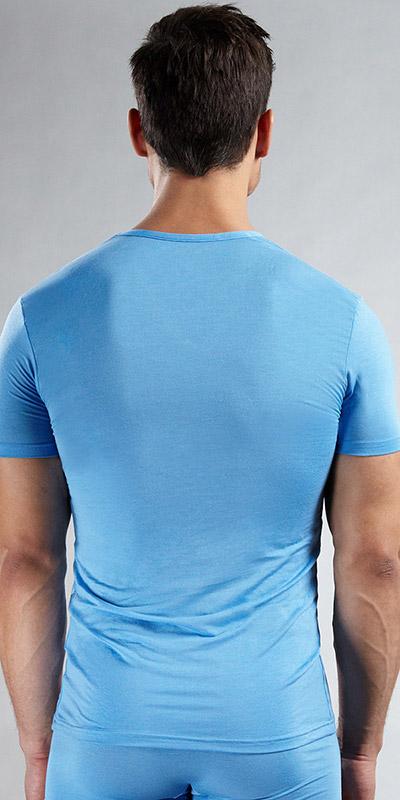 Calvin Klein Micro Modal Short Sleeve V-Neck